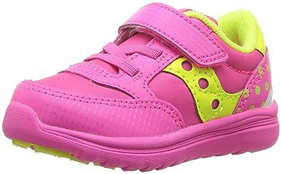 e63409196 Saucony Baby Jazz Lite Sneaker, Pink Monster, 4 M US Toddler