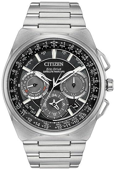 Citizen F900 CC9008-84E - Reloj Eco-Drive con sistema de satélite: Amazon.es: Relojes