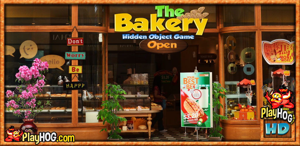The Bakery - Hidden Object Game [Download]