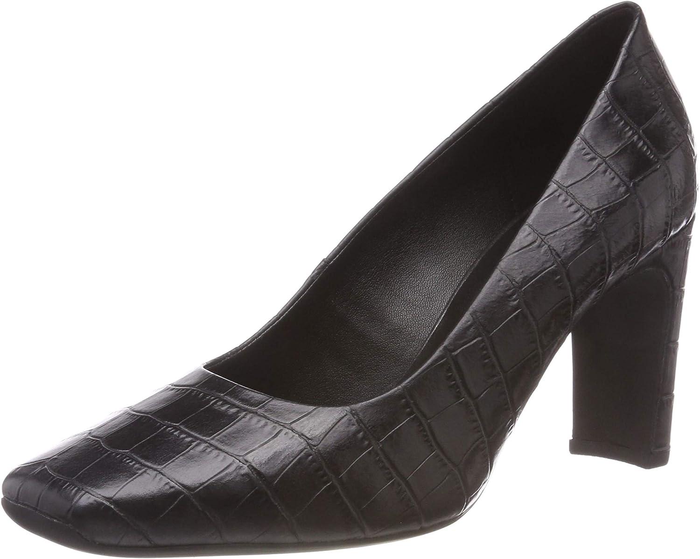 TALLA 40 EU. Geox D Vivyanne High A, Zapatos de Tacón para Mujer