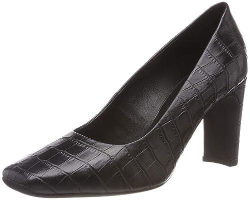 High Mujer Geox Zapatos Vivyanne De A Para D Tacón 6n6xrq8EHw