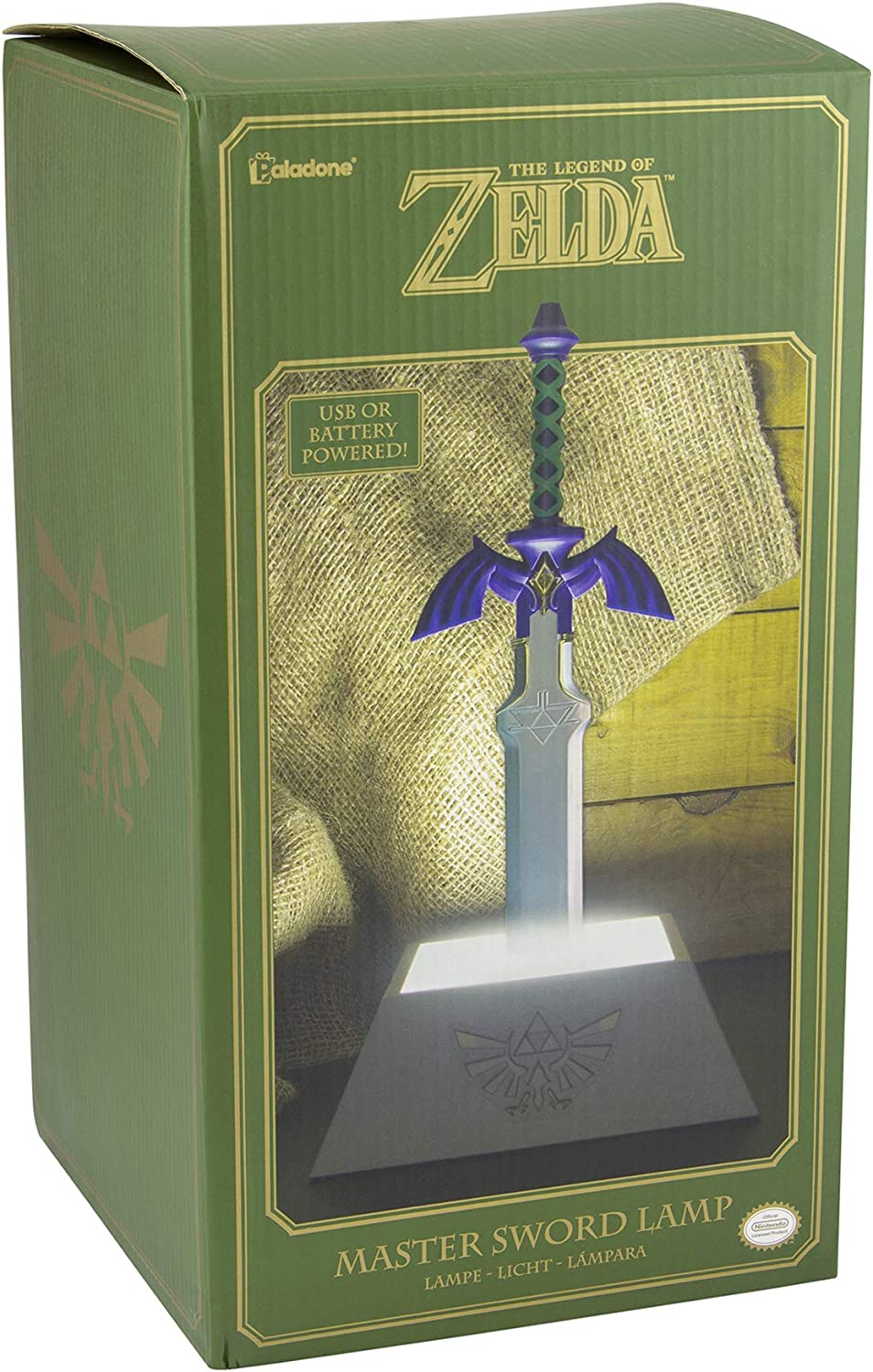 Amazon Com Paladone The Legend Of Zelda Officially Licensed