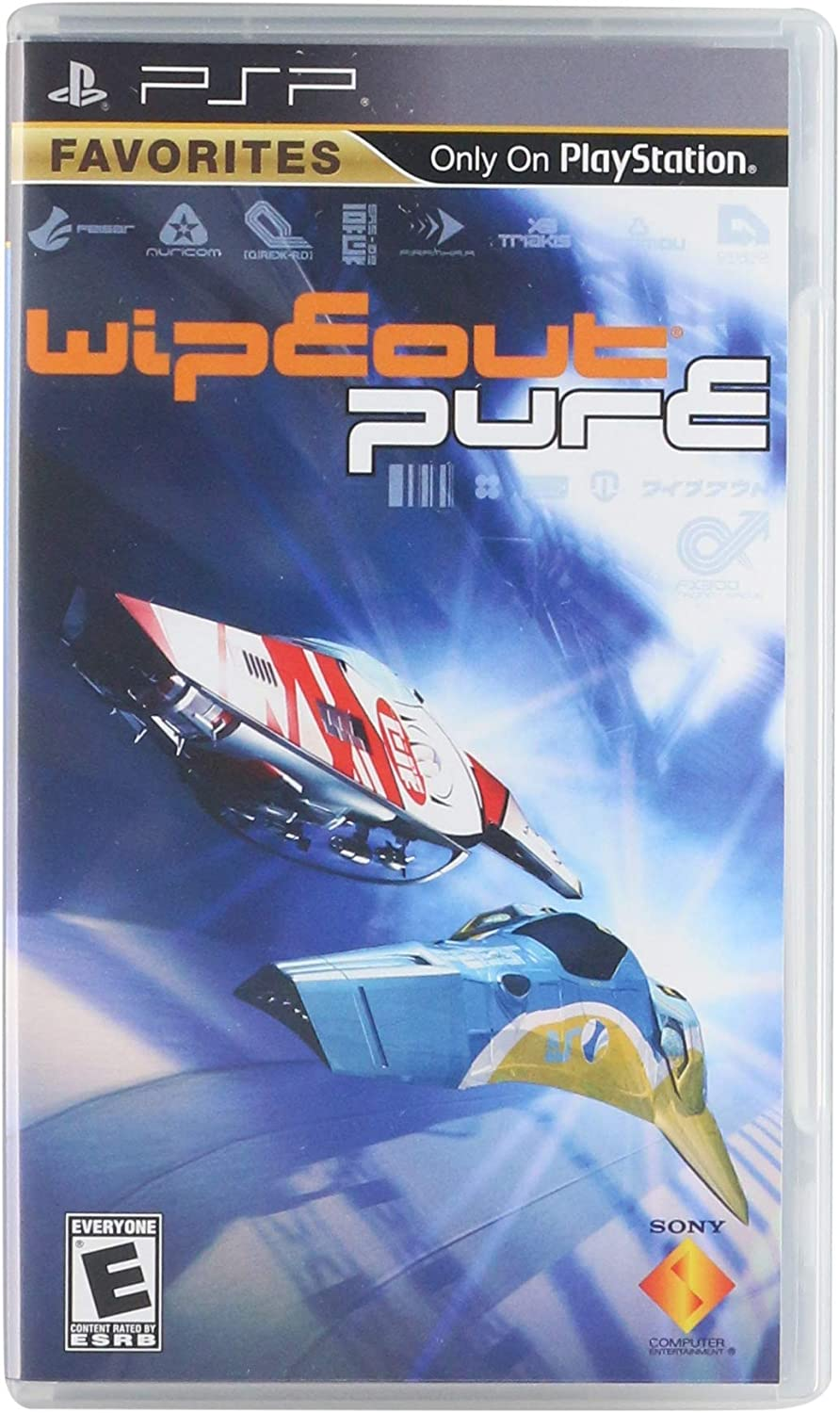 Amazon.com: Wipeout Pure - Sony PSP: Artist Not Provided ...