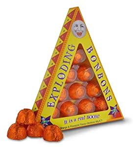 Universal Studios Wizarding World of Harry Potter Park Honeydukes Emporium Exploding Bon Bons Orange & Pinapple Flavoured 3.25 Oz Candy