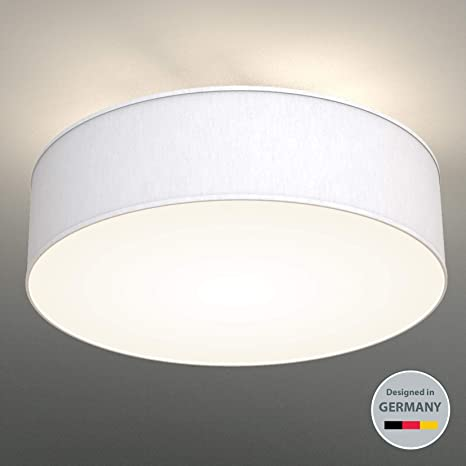 Luz de techo de tela I Lampara de techno I Plafon con 3 luces I E27