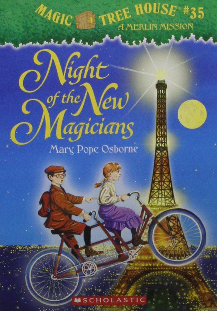 Download Night of the New Magicians (Magic Tree House #35) pdf epub