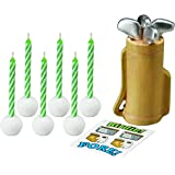 Wilton 2811-8420 Golf Decal Candle Set