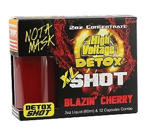 High Voltage Detox XL Shot - 2oz (Blazin' Cherry)