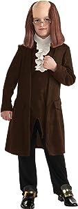 Rubie's Deluxe Benjamin Franklin Costume - Large (12-14)