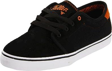 f855a604b1 Fallen Forte 23818004 - Men s Suede Skate Shoes Black Size  3.5 ...