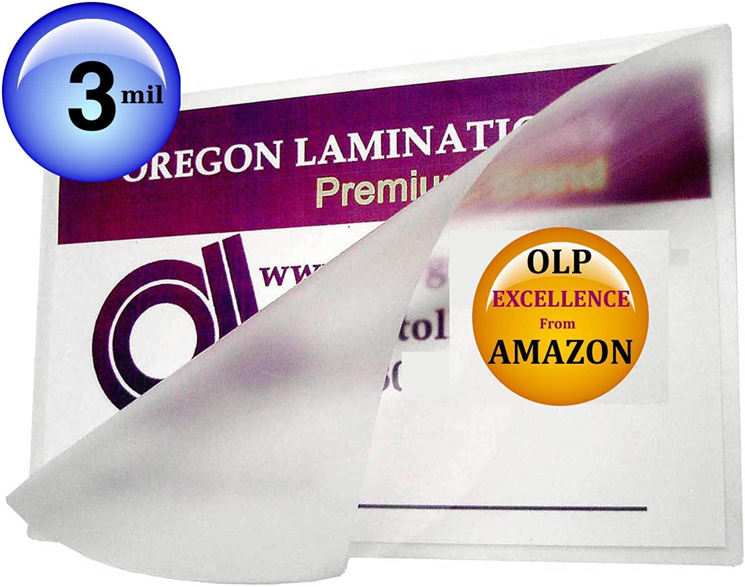 3 Mil A4 Laminating Pouches Qty 100 Hot 8.75 x 12.25 Laminator Sleeves 222mm x 311mm
