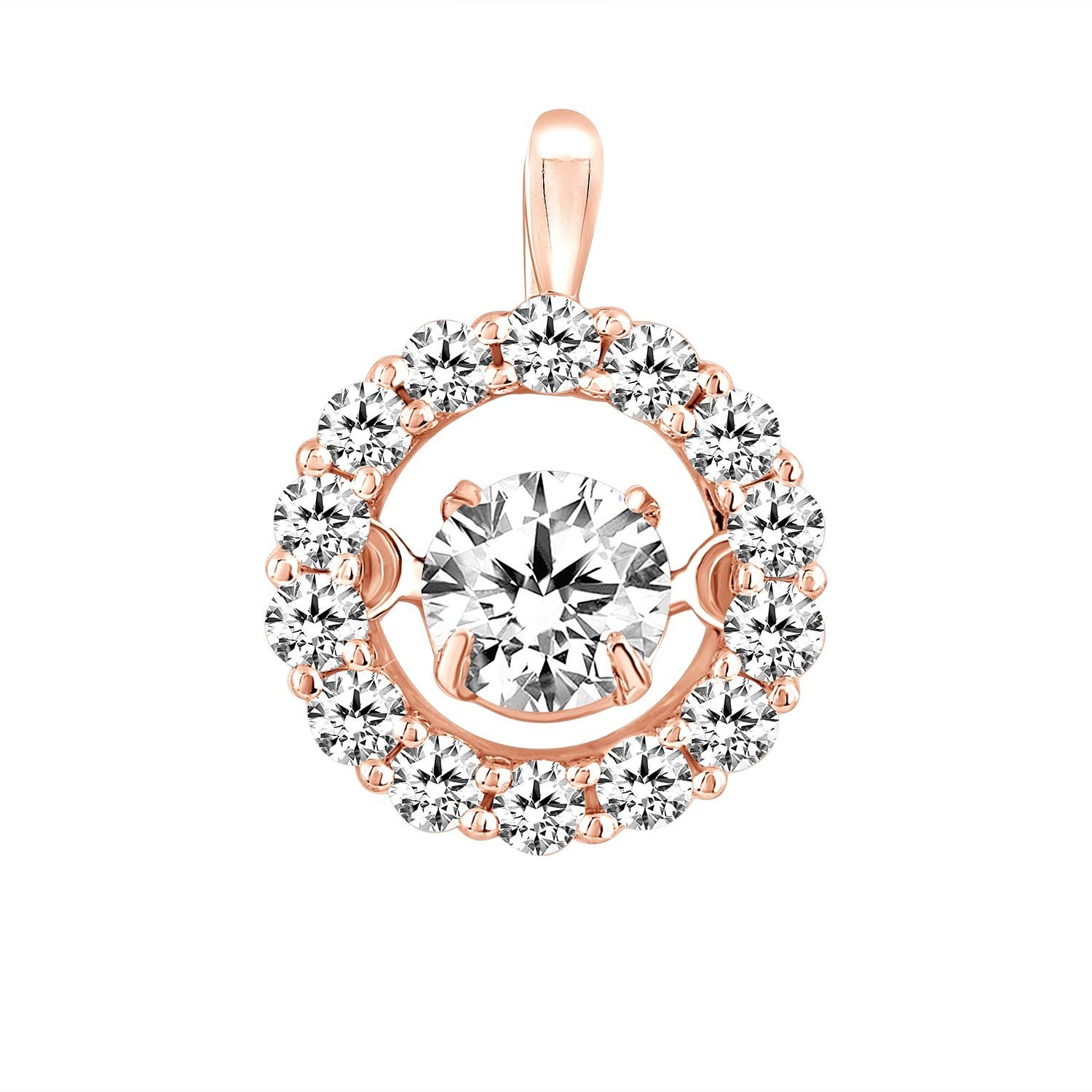 dancing collection circle pearls diamond products pendant tara small