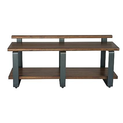 Terrific Amazon Com Vhomes Indio Industrial Bench Kitchen Dining Spiritservingveterans Wood Chair Design Ideas Spiritservingveteransorg