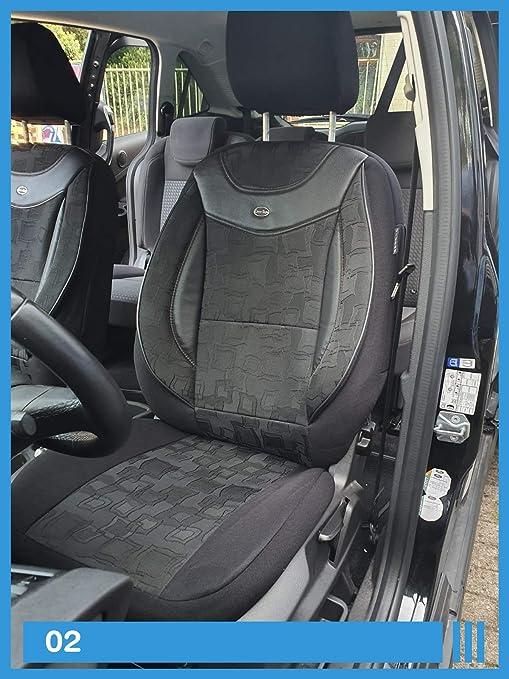 Maß Sitzbezüge Kompatibel Mit Mercedes C Klasse W202 Fahrer Beifahrer Ab Fb 02 Baby
