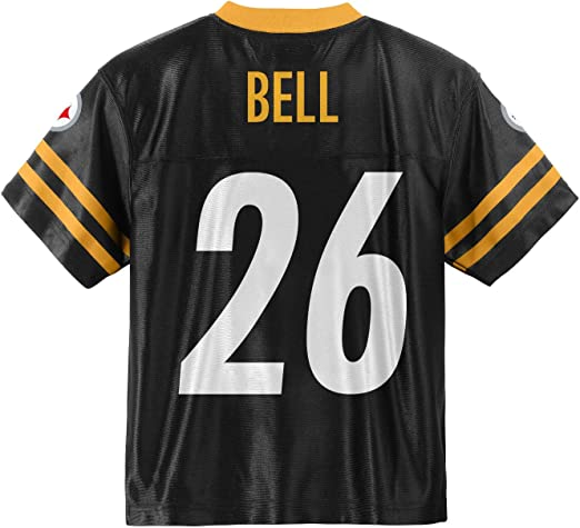 New Pittsburgh Steelers Nike NFL Kid/'s Jersey 10-12 Years Brown 84 Black