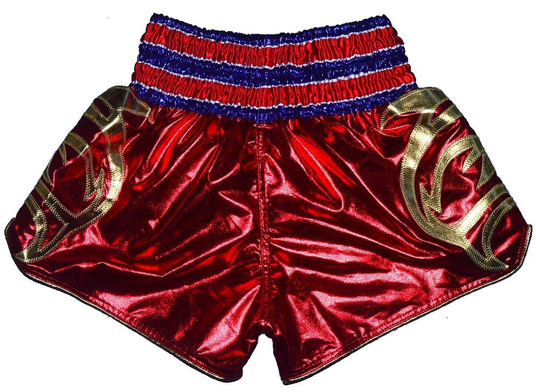 Phenom Muay Thai Shorts 027 Red XXS,XS,S,M,L,XL