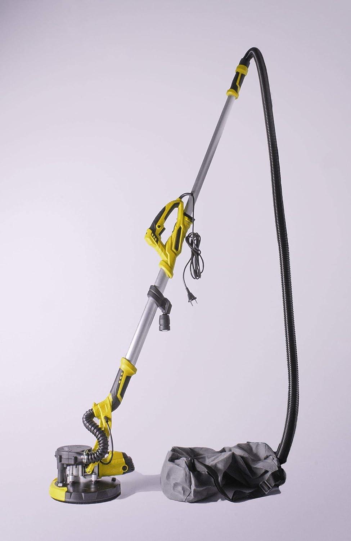 Akifix NUE65001 - Lijadora, integrada, mango extensible, aspirador ...