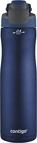 Contigo Autoseal Chill Vacuum-Insulated Stainless Steel Water Bottle