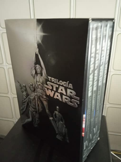 Pack: Stars Wars - Trilogía Capítulo IV, V, VI DVD: Amazon.es: Mark Hamill, Harrison Ford, Carrie Fisher, Peter Cushing, Alec Guinness, Billy Dee Williams, Anthony Daniels, Kenny Baker, Peter Mayhew, Sebastian Shaw,