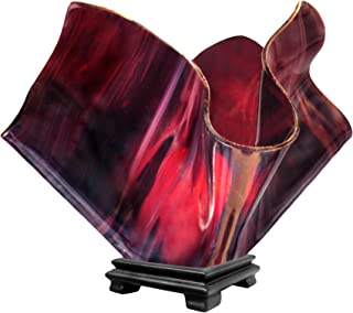 product image for Jezebel Radiance VALA-FP16-PLU Flame Vase Lamp, Large, Plum