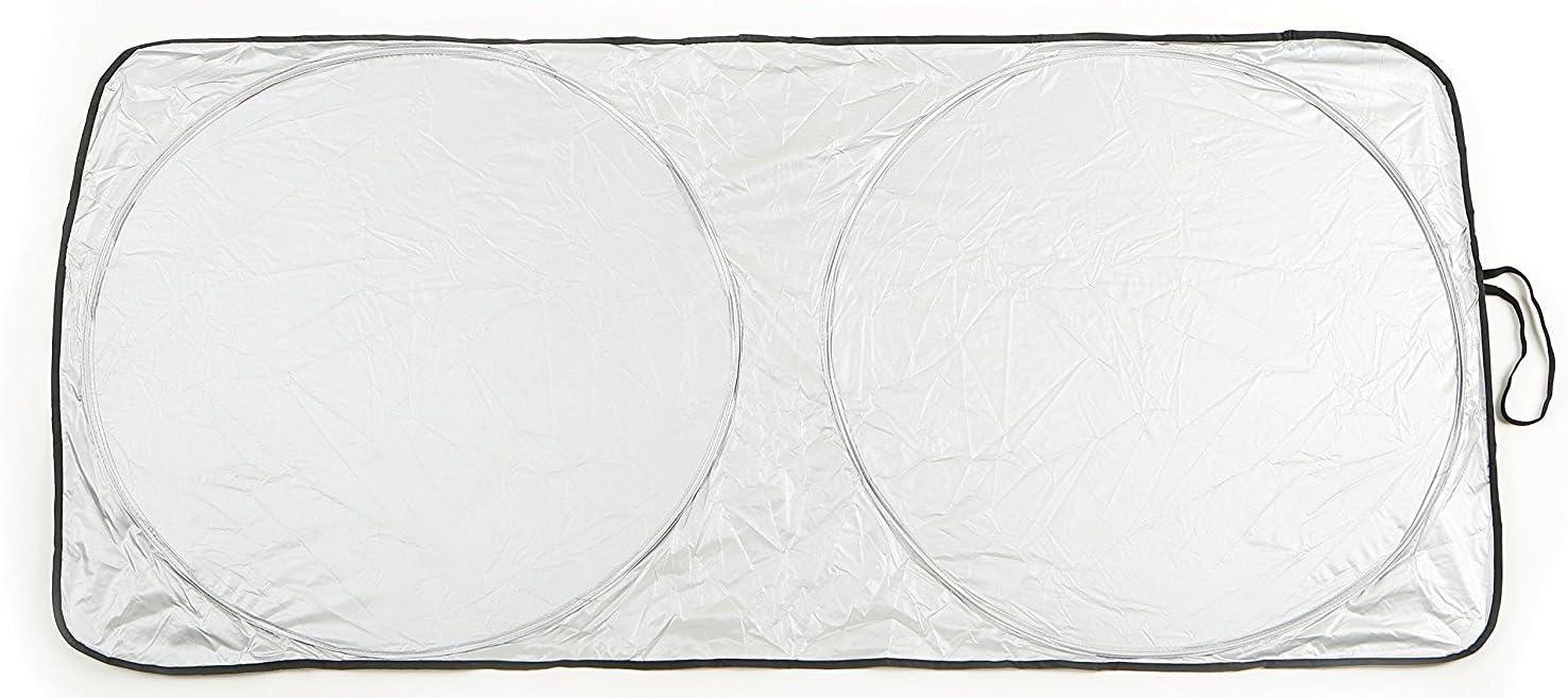 Sumex Front Windscreen Foldable Reflective Sun Shade Block Screen FREE DASH MAT Medium - 66 x 142cm
