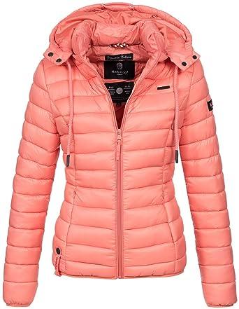 d560a8a69664 Marikoo Damen Jacke Steppjacke Übergangsjacke Gesteppt Frühjahr B619  Amazon .de  Bekleidung