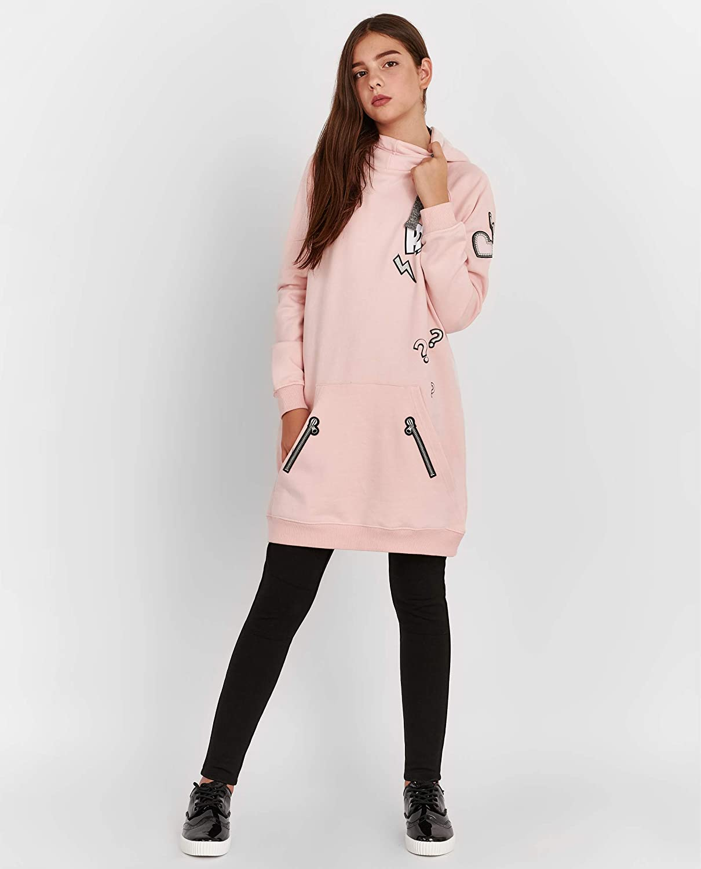 GULLIVER Girl Hoodie Pink Long Sleeve Hooded Sweatshirt Sweater Teens 11-14 Years