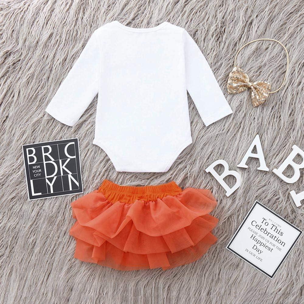 0-24 Months TM Jchen Newborn Skirt Romper Sets Christmas Cartoon Deer Romper Tutu Skirt Baby Girl Xmas Outfits