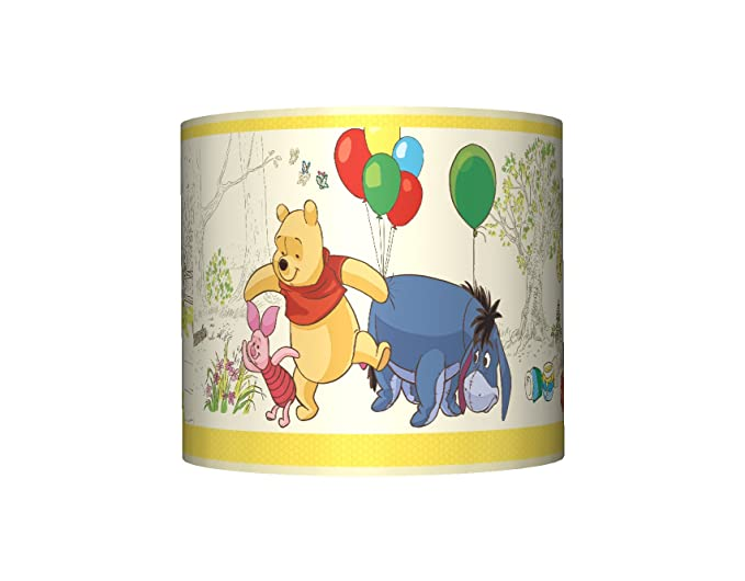Winnie the pooh ceiling lampshade 10 drum baby boys girls winnie the pooh ceiling lampshade 10quot drum baby boys girls bedroom aloadofball Images