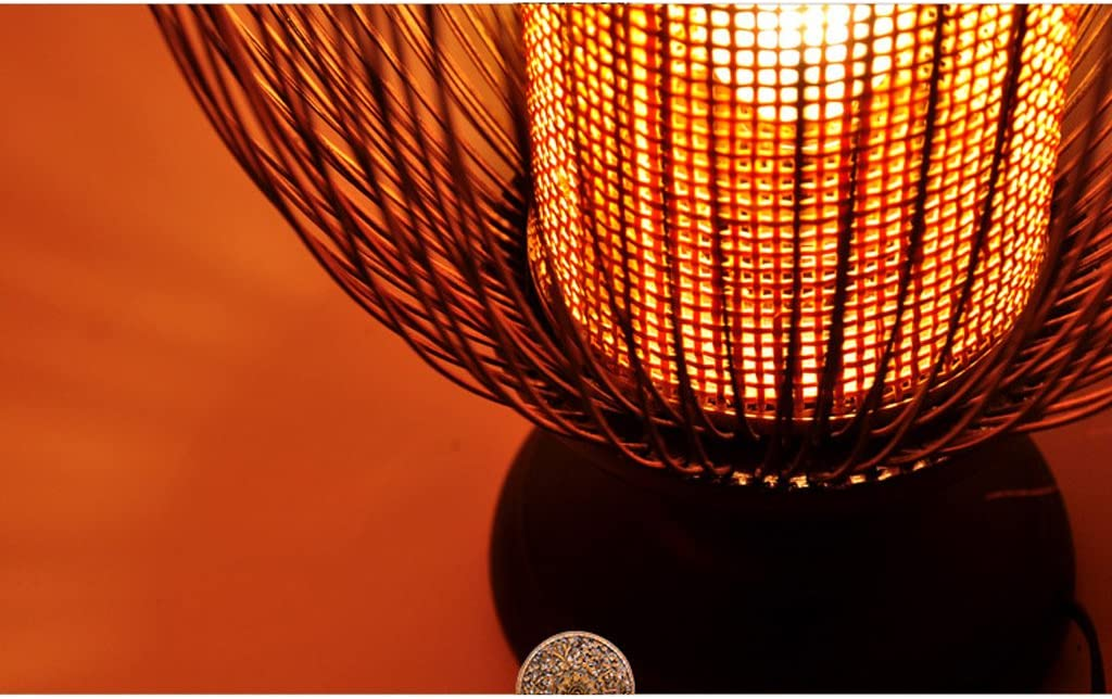 tama/ño : 42 * 22cm la Sala de Estar y la Tienda de caf/é l/ámpara de Escritorio de Madera Caliente para la cabecera del Dormitorio LOVELY L/ámpara Retra de bamb/ú Natural del Estilo tailand/és