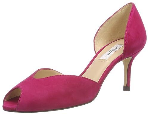 Zapatos beige de punta abierta L.K.Bennett para mujer ra5mMZ9ou
