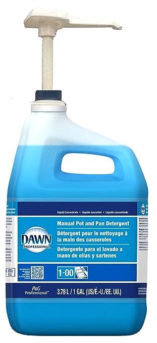 Dawn Ultra, Professional Dish Detergent Liquid – Plus 2 Scrub sponges - Cuts Tough Grease
