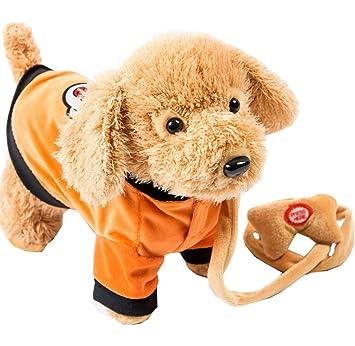 Amazon.es: Juguete lindo del perro de peluche que camina el ...