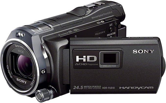 Sony Handycam HDR-PJ810E - Videocámara de 6.1 MP (Pantalla de 3 ...