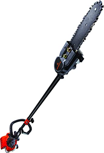 Remington RM25PS Maverick 25cc 2-Cycle Gas Saw with 7 Foot Extension Pole for Tree Trimming and Pruning, Orange