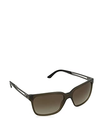 b34a455e8389a Image Unavailable. Image not available for. Color  Versace 4307 200 13  Green Clear 4307 Rectangle Sunglasses Lens Category 2