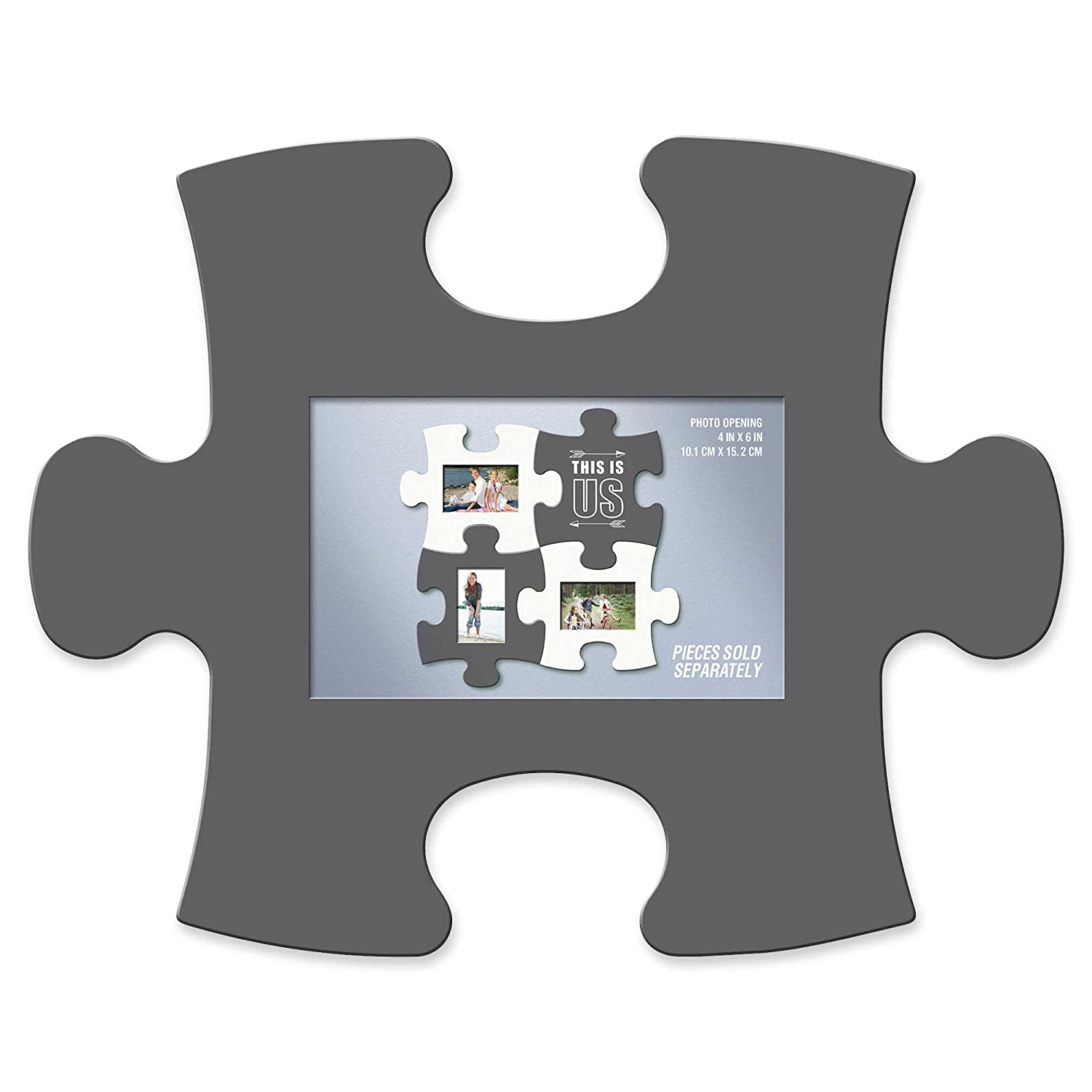 Amazon.com: WallVerbs Mix & Match Puzzle Frame and Wall Art Pieces ...