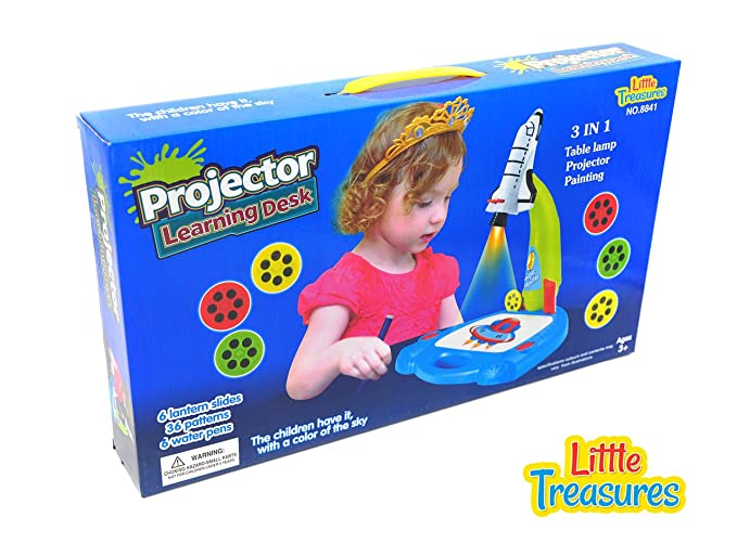 Amazon.com: Little Treasures Trace and Draw Mess Free ...