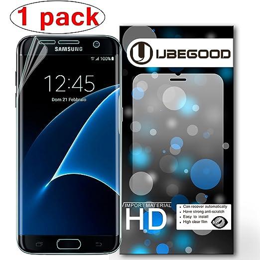 10 opinioni per Samsung Galaxy S7 edge Pellicola protettiva , Ubegood [1-pezzi] HD ultra