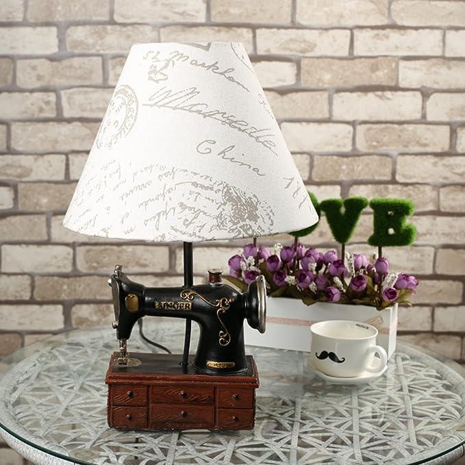 hrmaoi®, regalos, Noche – Lámpara de mesa, manera, cobre, jahrgang ...