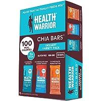 15-Count Health Warrior Chia Bars Dessert Variety Pack