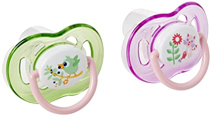 Philips AVENT SCF186/22 - Chupete (Free-flow baby pacifier, Ortodóntico, Silicona, 1,5 mes(es), Inglaterra, 2 pieza(s))