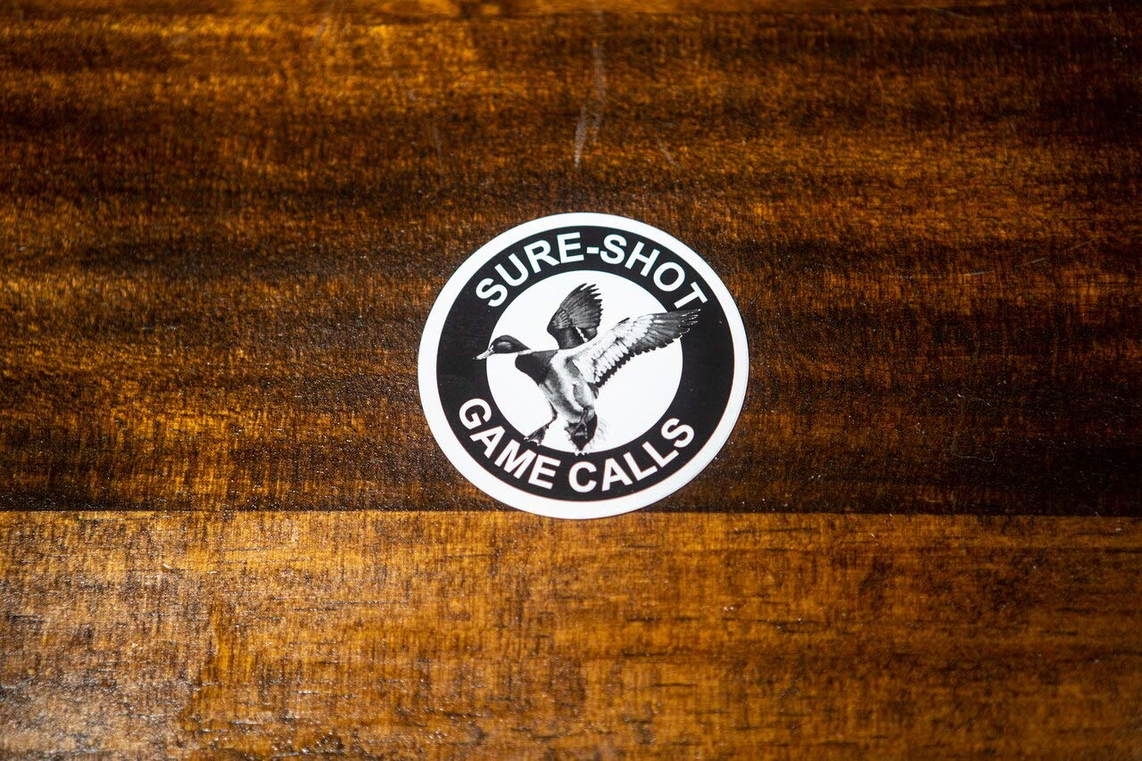 Sure-Shot Logo Round Black/&White