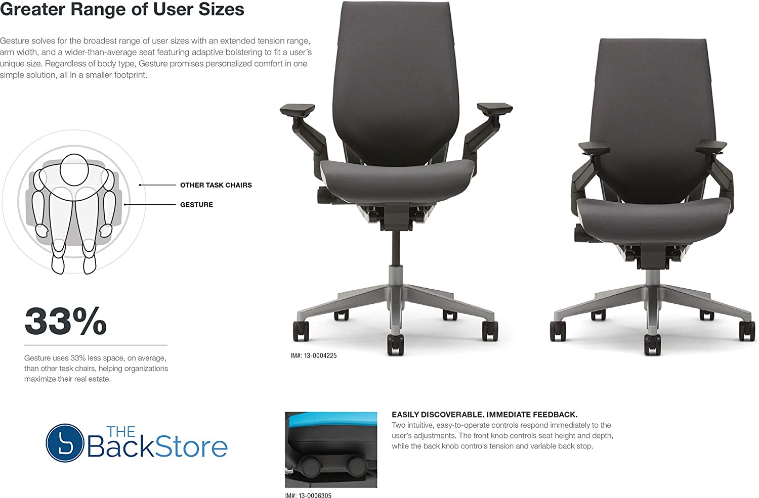 71zVU1tZhoL. AC SL1500 - What is The Best Computer Chair For Long Hours Sitting? [Comfortable and Ergonomic] - ChairPicks