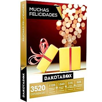 DAKOTABOX - Caja Regalo - MUCHAS FELICIDADES - 3520 Experiencias únicas: Amazon.es: Deportes y aire libre