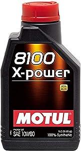 Motul 106142 8100 X-Power 10W60, 1 L, 33.81 Fluid_Ounces