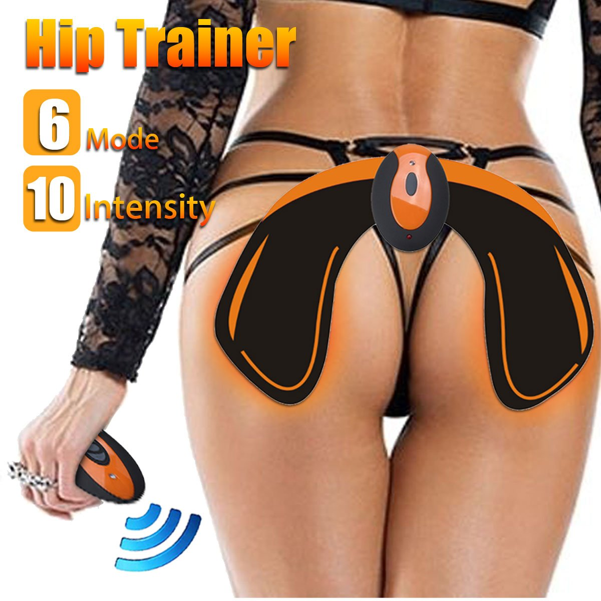 Slimerence Remote EMS Hips Trainer and Helps to Lift, Training Booster Muscle Stimulation, Firm and Shape The Buttocks Hip Body Shaper for Women Fitness