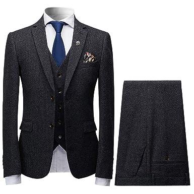 ad69581dd9000 CEEN メンズ スーツ おしゃれ 3点セット スリム ストライプ 2つボタン セットアップ スタイリッシュ ビジネス 結婚