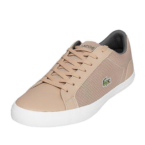 Lacoste Hombre Lerond cam1034 a75 Zapatillas, Color Marrón, Talla 47 EU: Amazon.es: Zapatos y complementos