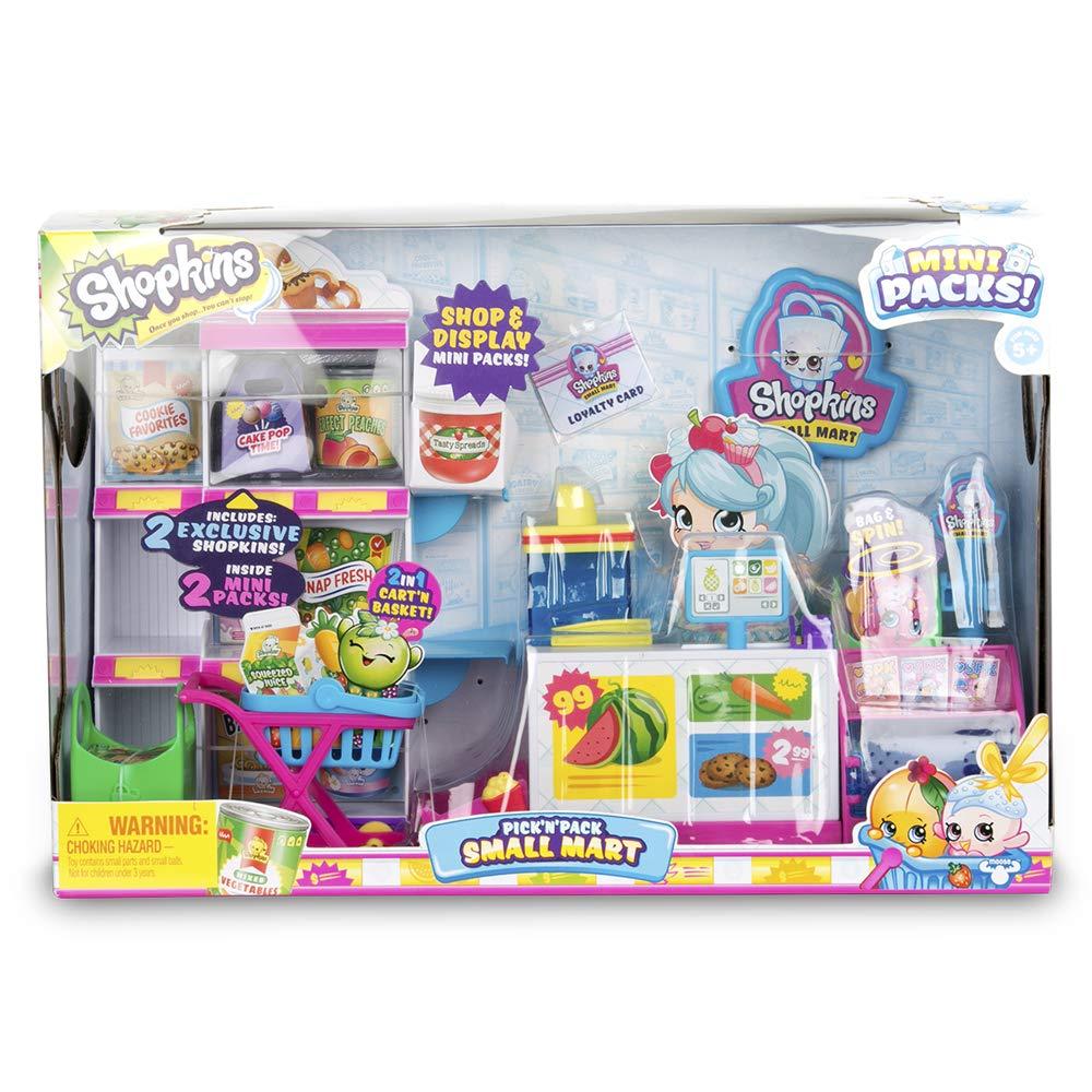 Shopkins S10–Pick N Pack Small Mart (Giochi Preziosi hpkf7000)